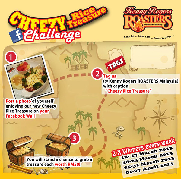 contest cheezy rice treasure