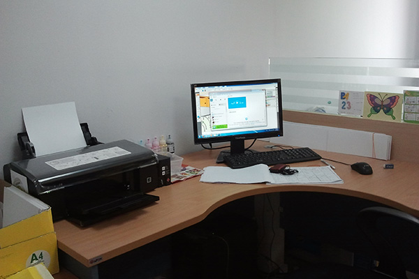 Workspace Sagitaurus di Heguru office