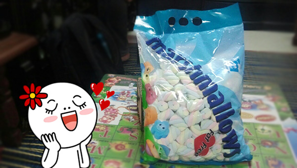 Semanis Marshmallow #WordlessWednesday