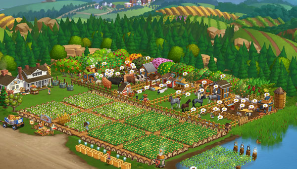 berkebun di farmville wordless wednesday