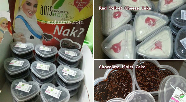 anis chocolate red velvet cheese cake