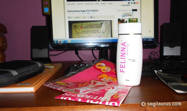 Felinna Beauty Inchloss Lotion sagitaurus